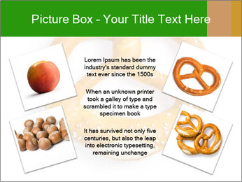 Salty Pretzel PowerPoint Templates - Slide 24
