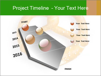 Salty Pretzel PowerPoint Template - Slide 26