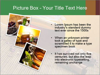 Strong Black Tea PowerPoint Template - Slide 17