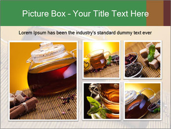 Strong Black Tea PowerPoint Template - Slide 19