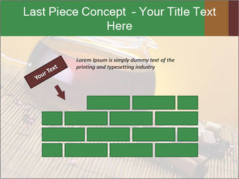 Strong Black Tea PowerPoint Template - Slide 46