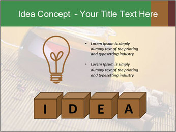 Strong Black Tea PowerPoint Template - Slide 80