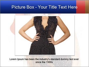 Funny Girl in Red Hat PowerPoint Template - Slide 15