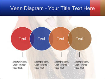Funny Girl in Red Hat PowerPoint Template - Slide 32
