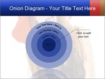 Funny Girl in Red Hat PowerPoint Template - Slide 61