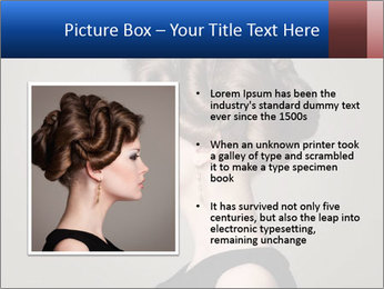 Elegant Hairdo PowerPoint Templates - Slide 13