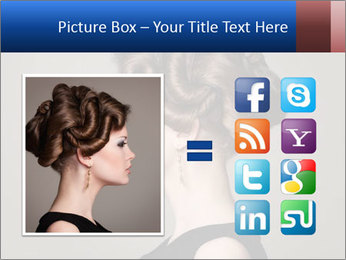 Elegant Hairdo PowerPoint Templates - Slide 21