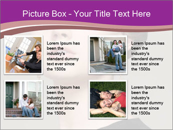 Elegant Young Woman PowerPoint Templates - Slide 14