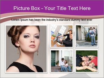 Elegant Young Woman PowerPoint Templates - Slide 19