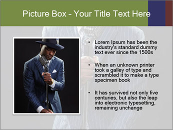 Afro-American Singer PowerPoint Templates - Slide 13