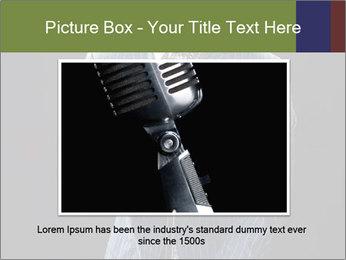 Afro-American Singer PowerPoint Templates - Slide 15