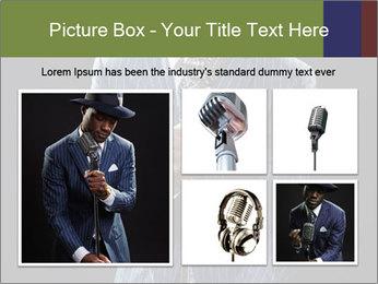 Afro-American Singer PowerPoint Templates - Slide 19