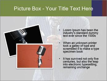 Afro-American Singer PowerPoint Templates - Slide 20
