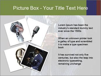 Afro-American Singer PowerPoint Templates - Slide 23