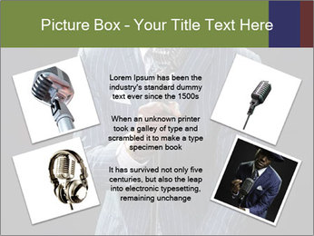 Afro-American Singer PowerPoint Templates - Slide 24