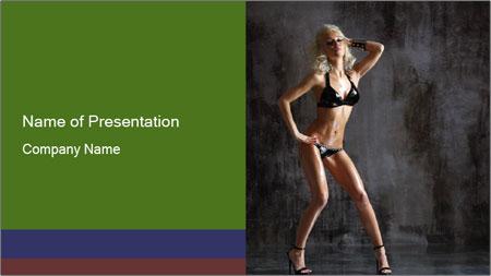 Go Go Dancer PowerPoint Template