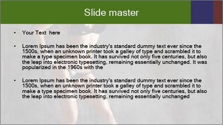 Go Go Dancer PowerPoint Template - Slide 2