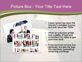 Cartoon Ants Building Bridge PowerPoint Templates - Slide 20