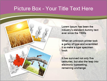 Cartoon Ants Building Bridge PowerPoint Templates - Slide 23