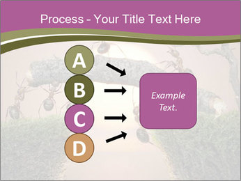 Cartoon Ants Building Bridge PowerPoint Templates - Slide 94