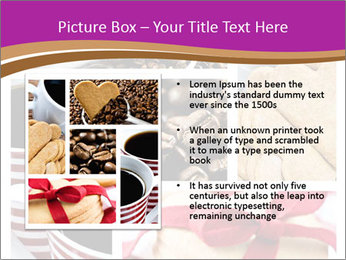 Coffee and Heart Cookies PowerPoint Template - Slide 13