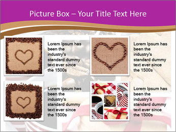 Coffee and Heart Cookies PowerPoint Template - Slide 14