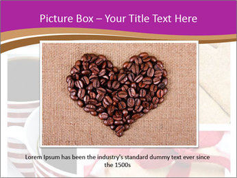 Coffee and Heart Cookies PowerPoint Template - Slide 15