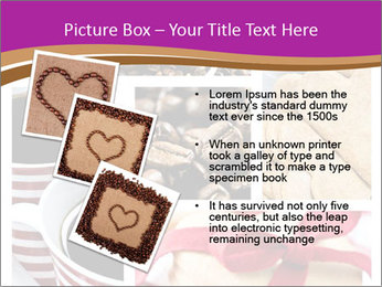 Coffee and Heart Cookies PowerPoint Template - Slide 17