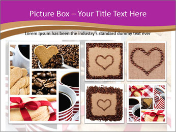 Coffee and Heart Cookies PowerPoint Template - Slide 19