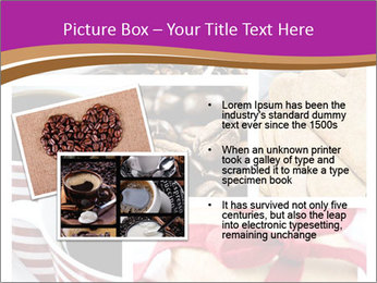 Coffee and Heart Cookies PowerPoint Template - Slide 20