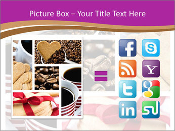 Coffee and Heart Cookies PowerPoint Template - Slide 21