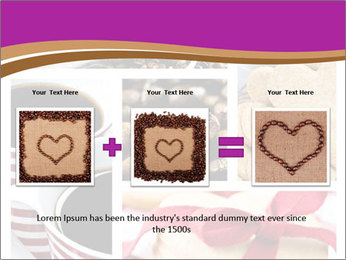 Coffee and Heart Cookies PowerPoint Template - Slide 22