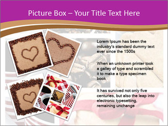 Coffee and Heart Cookies PowerPoint Template - Slide 23