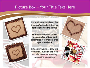 Coffee and Heart Cookies PowerPoint Template - Slide 24
