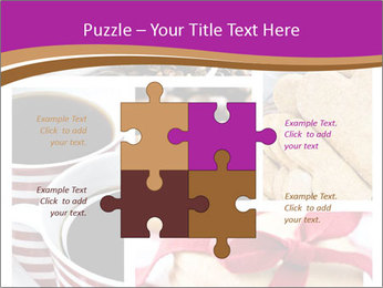 Coffee and Heart Cookies PowerPoint Template - Slide 43