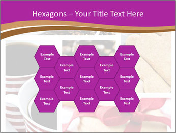 Coffee and Heart Cookies PowerPoint Template - Slide 44