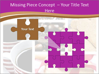 Coffee and Heart Cookies PowerPoint Template - Slide 45