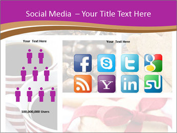 Coffee and Heart Cookies PowerPoint Template - Slide 5