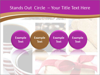 Coffee and Heart Cookies PowerPoint Template - Slide 76