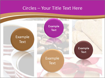 Coffee and Heart Cookies PowerPoint Template - Slide 77