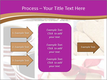 Coffee and Heart Cookies PowerPoint Template - Slide 85