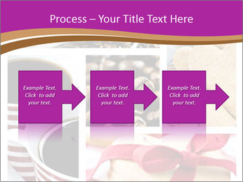 Coffee and Heart Cookies PowerPoint Template - Slide 88