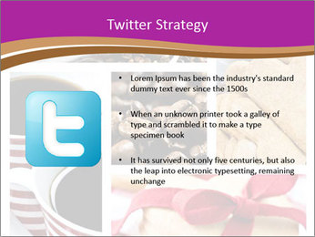 Coffee and Heart Cookies PowerPoint Template - Slide 9