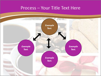 Coffee and Heart Cookies PowerPoint Template - Slide 91