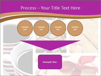 Coffee and Heart Cookies PowerPoint Template - Slide 93