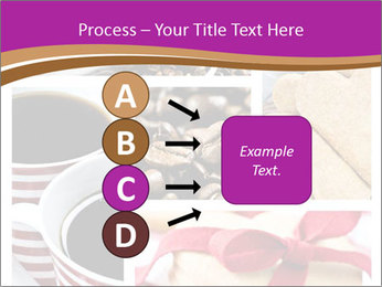 Coffee and Heart Cookies PowerPoint Template - Slide 94