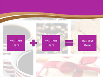 Coffee and Heart Cookies PowerPoint Template - Slide 95