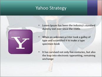 Airy Black Dress PowerPoint Templates - Slide 11