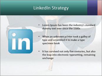 Airy Black Dress PowerPoint Templates - Slide 12
