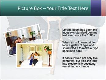 Airy Black Dress PowerPoint Templates - Slide 20